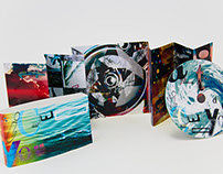 David Carson/Aphex Twin CD Packaging