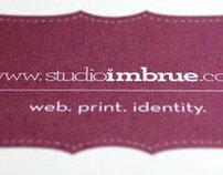 studioimbrue identity.