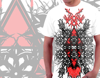 """Lines In Blood"" T-shirt"