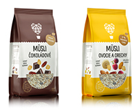 Visualisations of Muesli Bags
