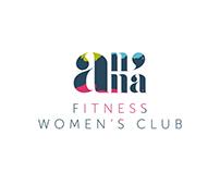 LOGO Idea for Anna Fitness Women's Club