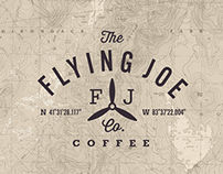 Flying Joe Coffee Logo Design
