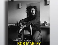 Poster homenaje a Bob Marley en sala Clamores de Madrid