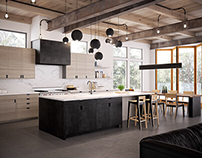 Orkas Kitchen by Gauge Design Group