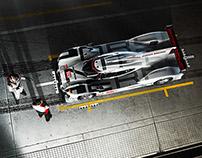 Porsche Motorsport Campaign 2015 CGI