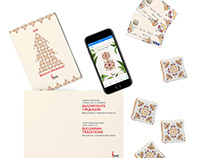 Ibank intagrated marketing campaign with embroideries