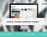 Arkitekt - Premium Architecture Joomla Template