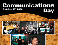 Communications Day Brochure - ULV Comm Dept.