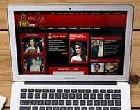 Oscar 2011 Micro Website Design