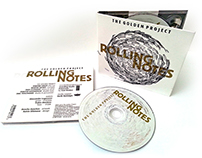 ROLLING NOTES cd design (released)