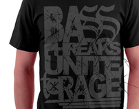 Machine Brigade Shirt - BASS PHREAKS UNITE TO RAGE