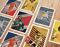 The Best Players of 2014 World Cup - Posters
