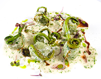 Goat Cheese & Fiddlehead Ferns