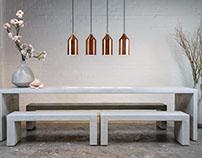 Concrete Furniture Photoshoot