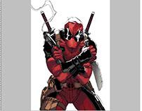 Deadpool illustrations