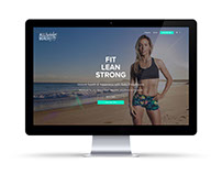 Sally Fitzgibbons 'All Australian Beach Body' website