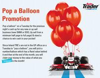 Auto Trader Pop a Ballon