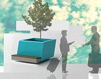 Eurotower greenbuilding urban furniture design 2009