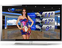 Weather Forecast Design / TV GRAPHICS