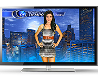 Houston Weather Forecast Design / TV GRAPHICS