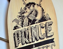 Handmade board x prince à roulettes