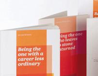 A new grad campaign in a new brand