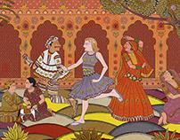 Patachitra-painting