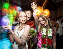 Indian party: Solianka club, Moscow
