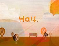 Half. Title Design
