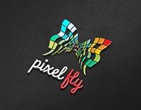 Pixel Fly - Logo Template