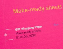Make-ready Wrapping Paper / Promotional Mailer