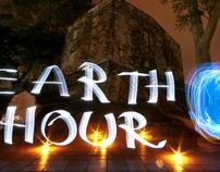Light Graffiti : Earth Hour