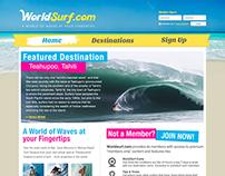 WorldSurf - a School Project