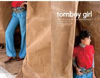Elle Magazine- Tomboy Girl