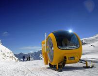 Rescue Snowmobile