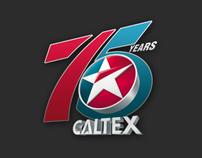 Caltex 75th Anniversary Logo