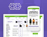 Cosmetic Jar - Ecommerce Portal