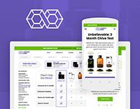 Cosmetic Jar - Ecommerce Portal