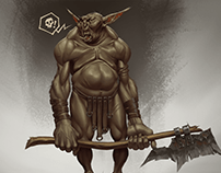 Goblin Brute / Illustration