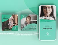 Social Media | Ser Imune