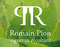 Romain Pion : Logotype