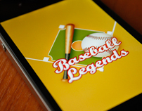 Baseball Legends iPhone App