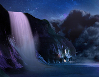 """""""Starry Lake"""" Composite"""