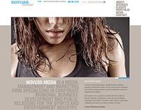 Novuss Media Website