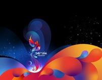 Eurovision 2009 LED screen graphics
