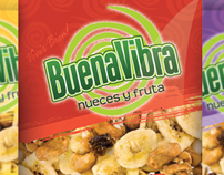 Buena Vibra Trail Mix packaging