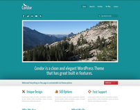 Condor Theme Free PSD Source