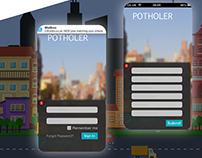 Potholer - GPS based App for iPhone