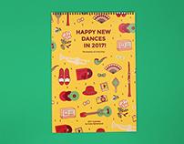 Lindy Hop Calendar 2017