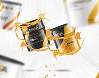 Omesa Paint Branding & Website & Package Design